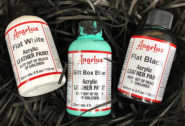 Angelus Paint Gift Box Blue