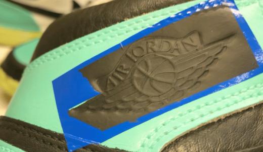 Air Jordan 1 Wing Logo ペイント | スニーカーペイント