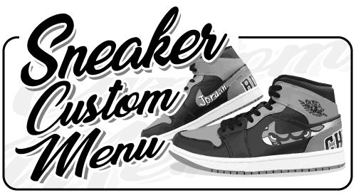 Off The Hook Online Store Custom Sneaker Paint カスタムペイント スニーカーペイント