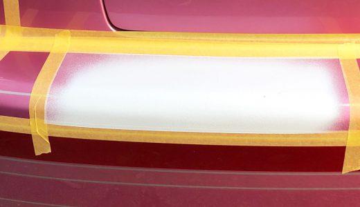 カスタムペイント修復事例 サフェーサー塗装