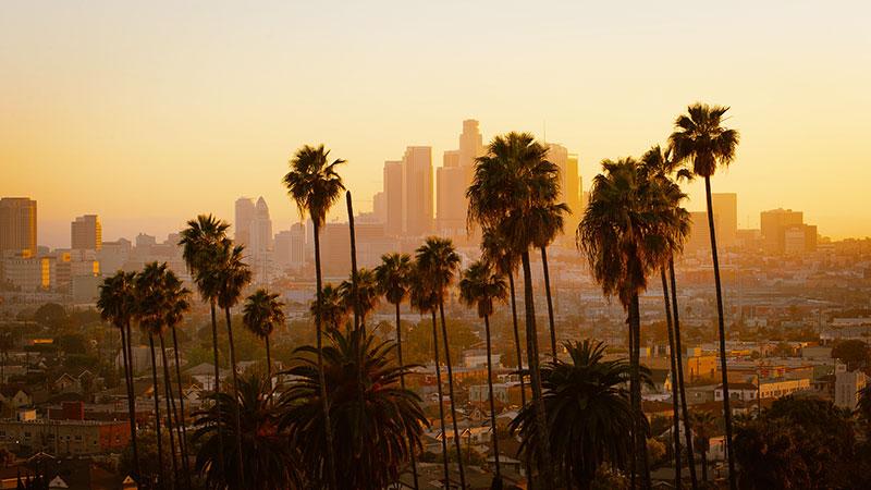 レイカーズカラーの秘密 ロサンゼルス 街の色