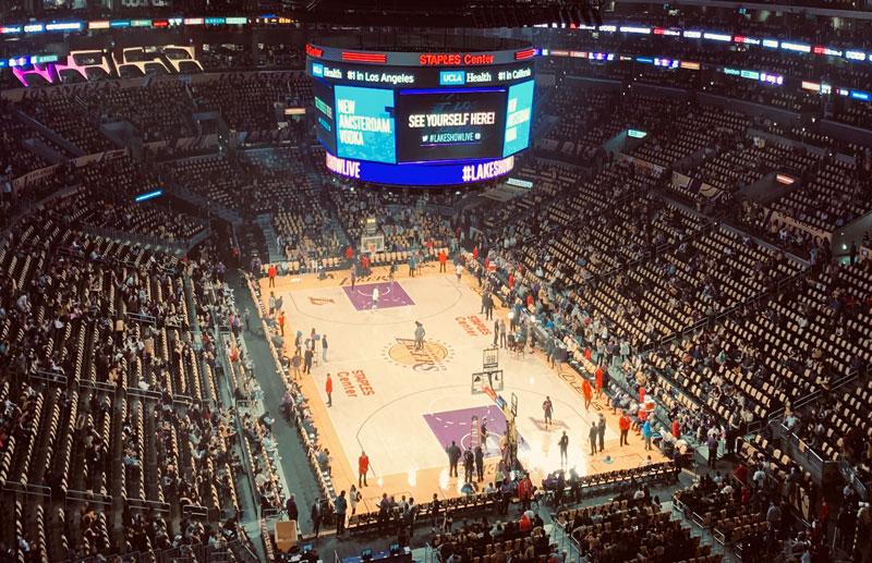 Lakers レイカーズ ホームグランド